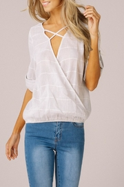 Listicle X Suprlice Top - Back cropped