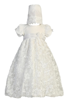 Lito Amber Christening Gown - Alternate List Image