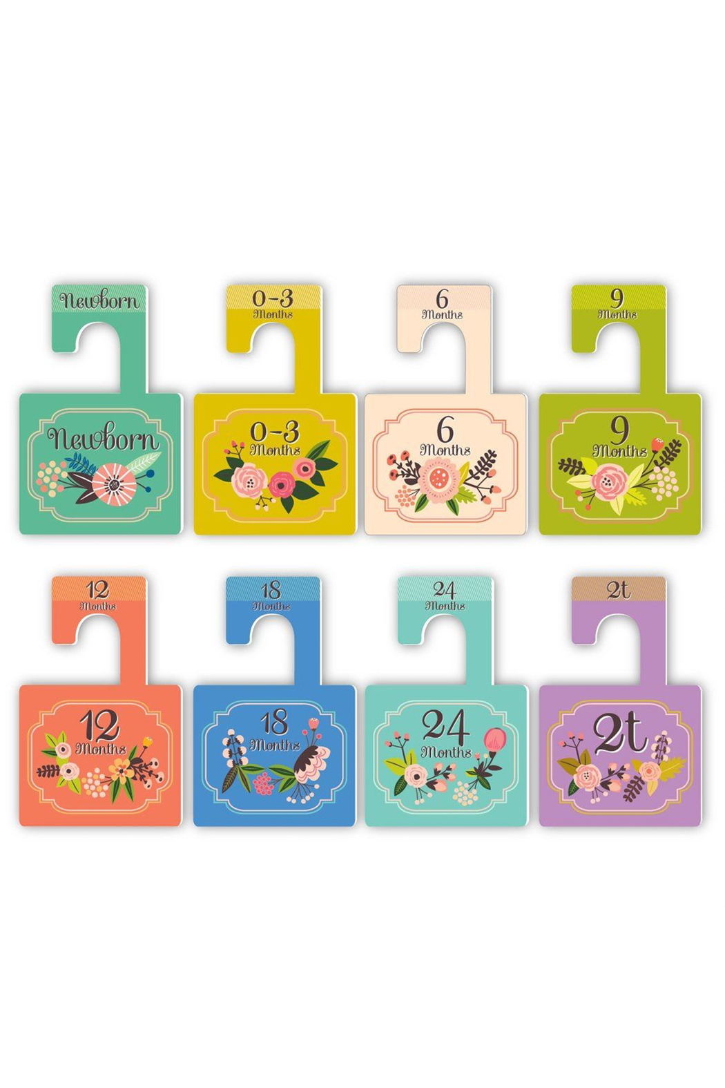 Lucy Darling Little Artist Closet Dividers - Front Full Image
