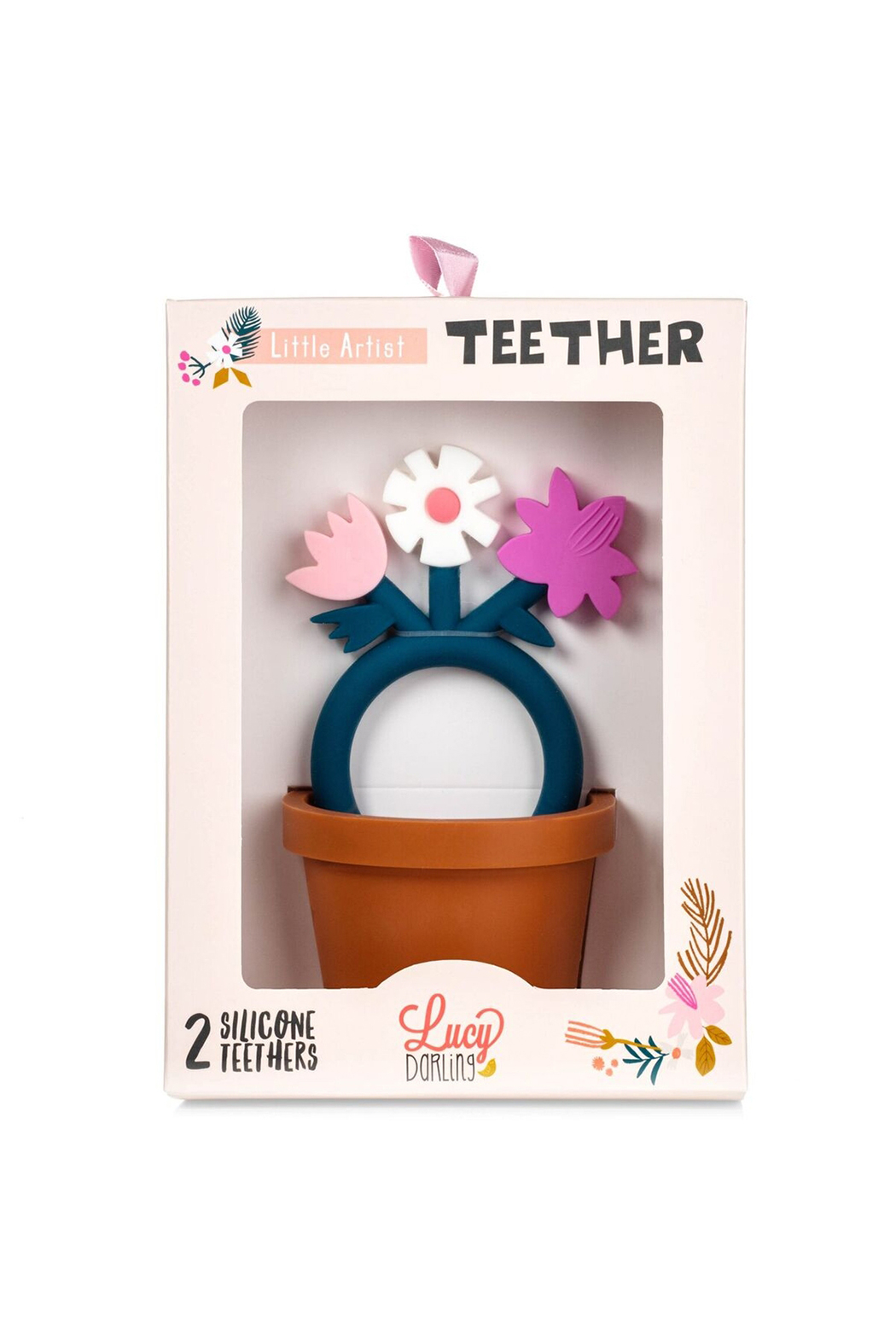 Lucy Darling Little Artist Teether - Front Full Image