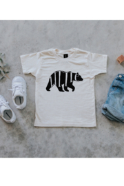 Gladfolk Little Bear Organic Kids Tee - Product Mini Image
