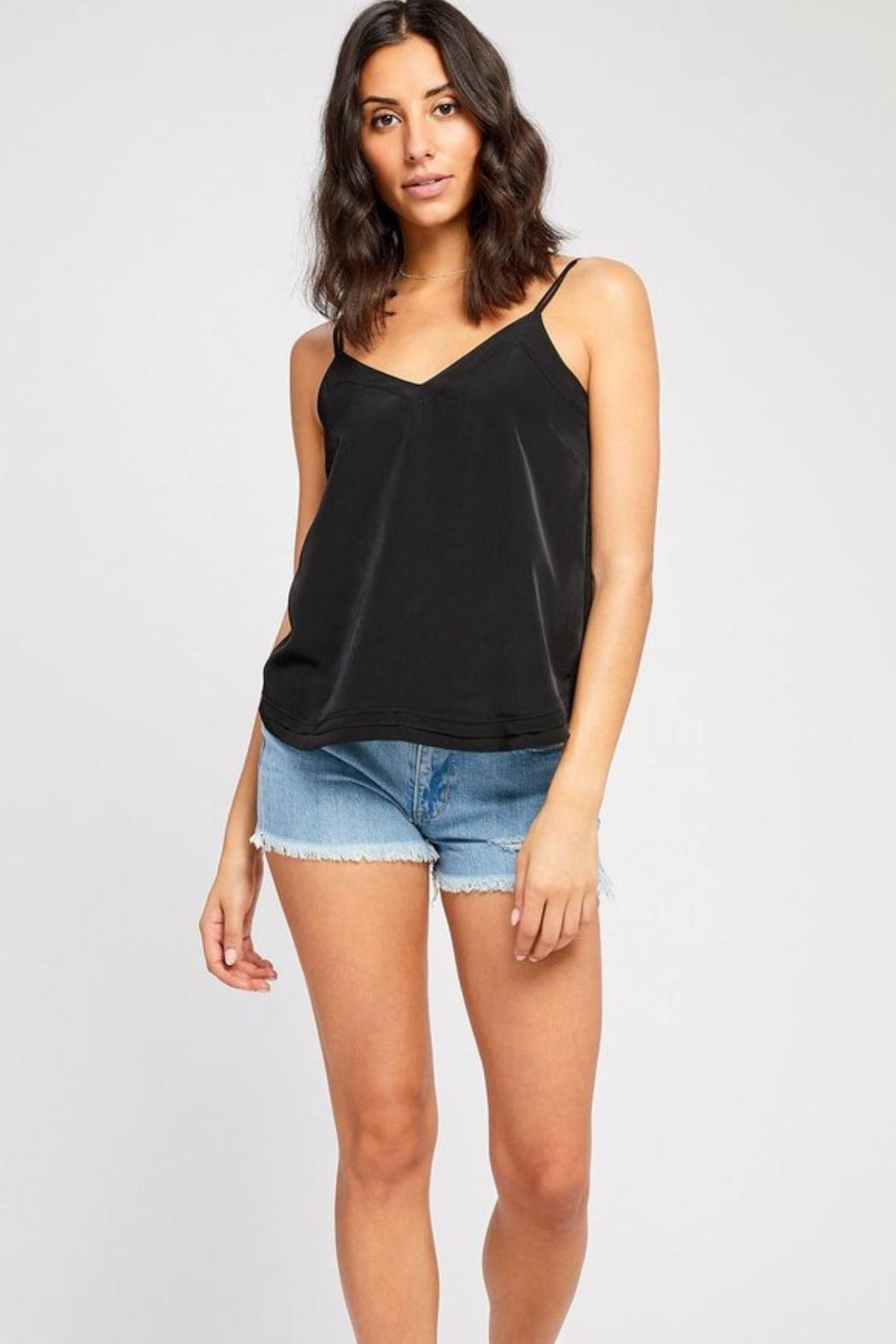 Gentle Fawn Little Black Tank - Front Cropped Image