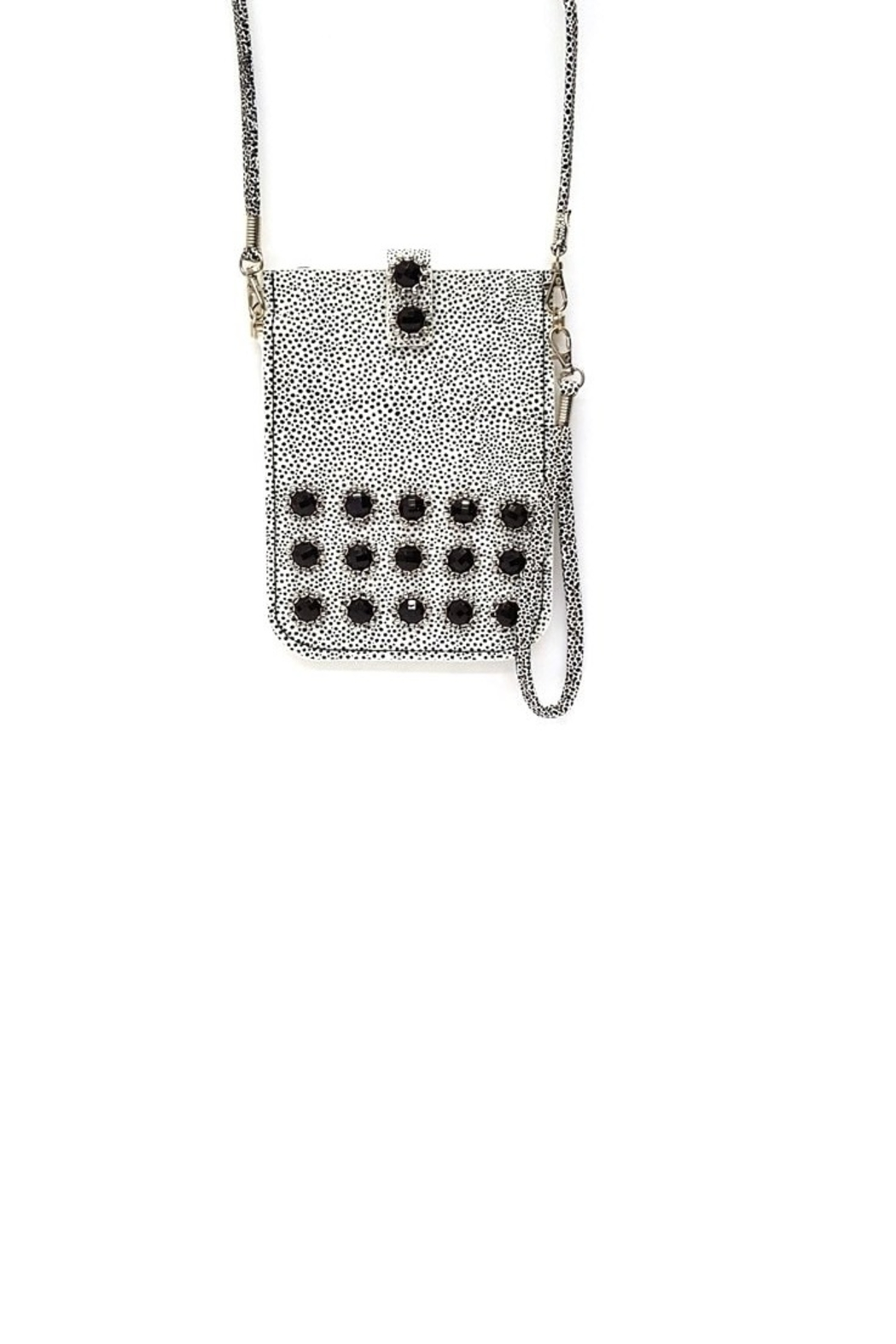 Treska Little Black/White Purse - Main Image