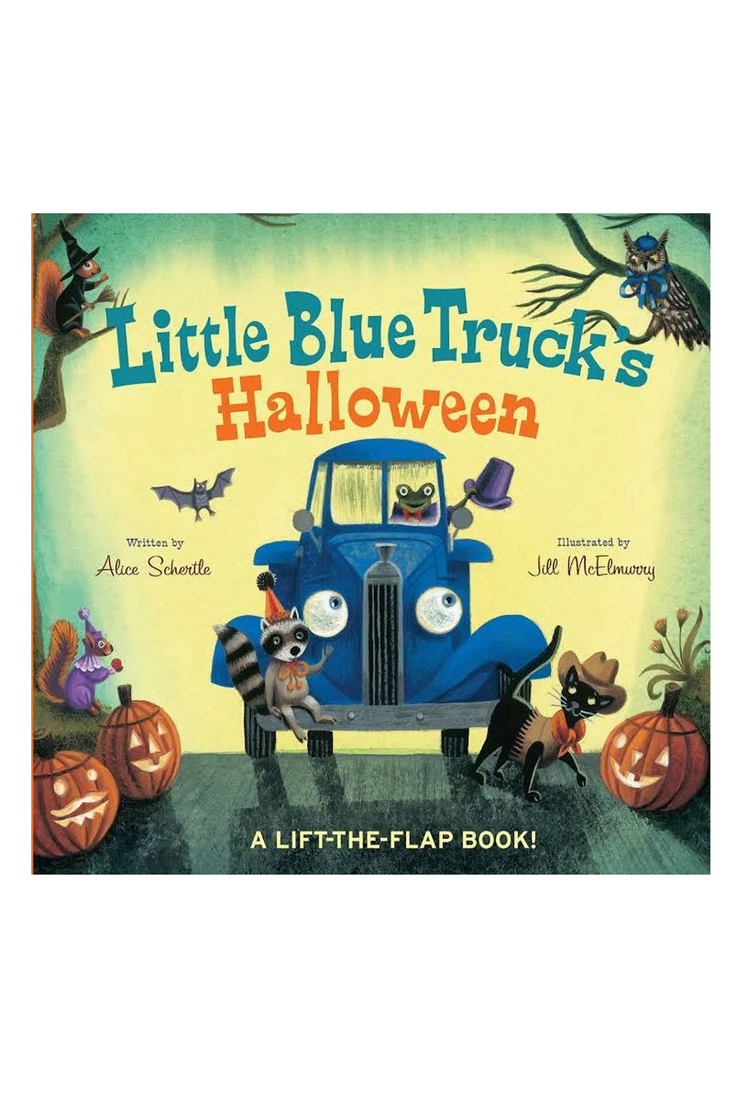 Houghton Mifflin Harcourt  Little Blue Truck's Halloween - Front Cropped Image