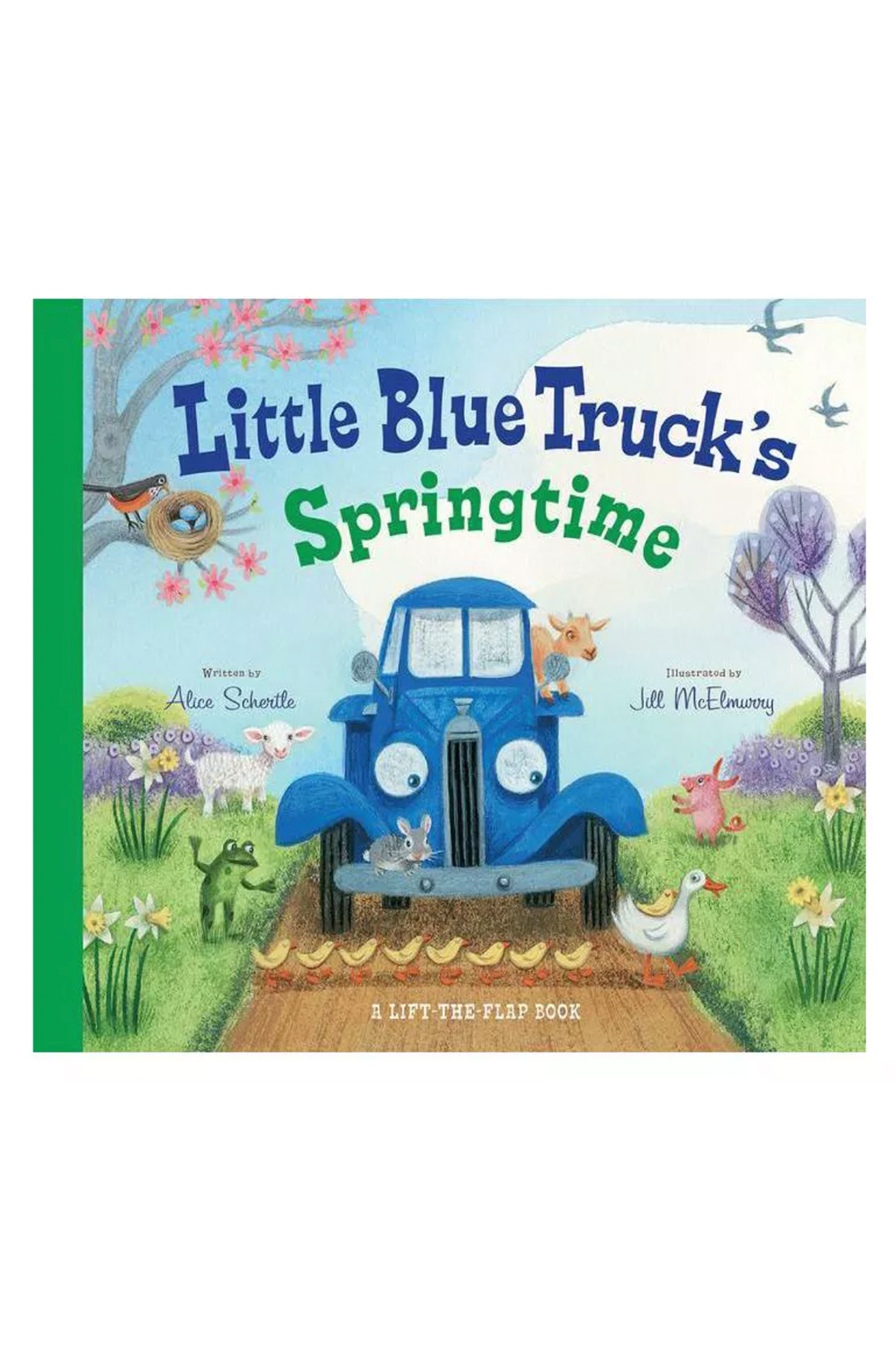 Houghton Mifflin Harcourt  Little Blue Truck's Springtime - Front Cropped Image