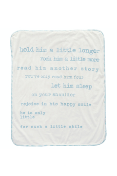 Mud Pie Little Boy Sherpa Blanket - Product List Image