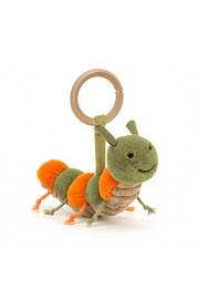 Jellycat  Little Christopher Caterpillar Stroller Toy - Product Mini Image
