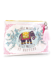 Papaya Little Elephant Large  Pouch - Front cropped