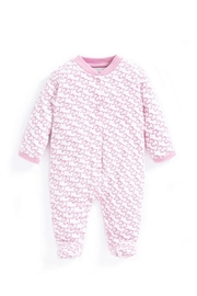 JoJo Maman Bebe Little Elephant Sleepsuit - Front cropped