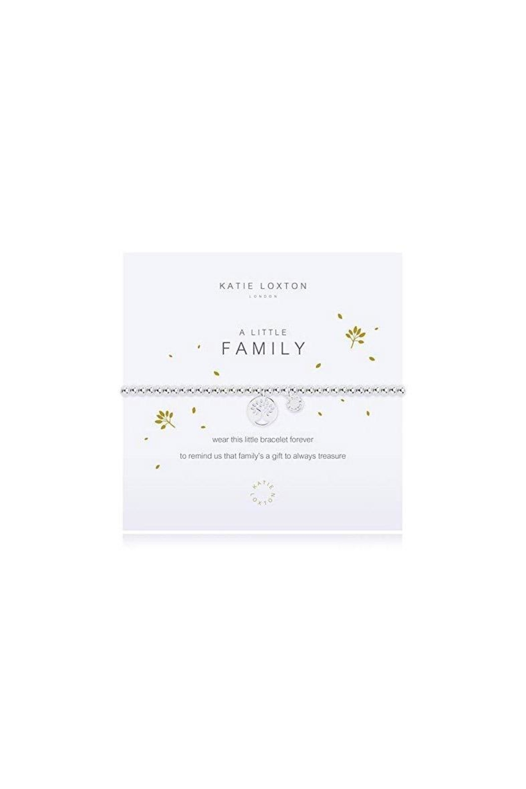 Katie Loxton Little Family Bracelet - Front Cropped Image