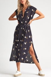 Billabong Little Flirt Button Down Midi Dress - Product Mini Image
