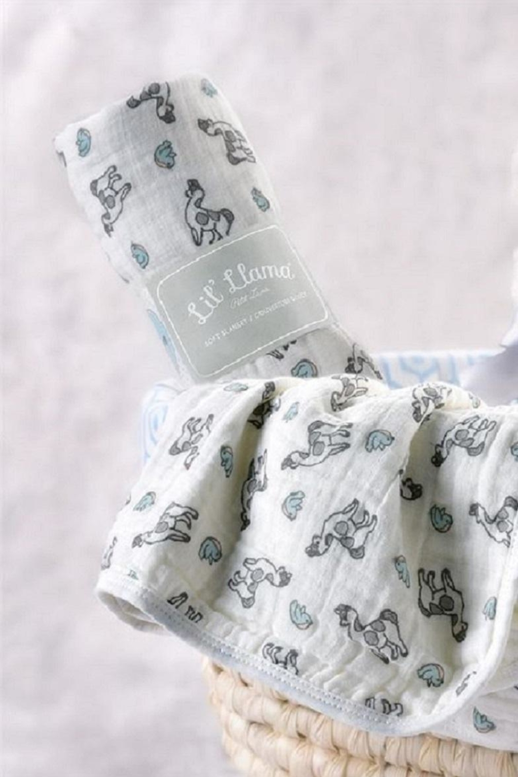 Giftcraft Inc.  Little Llama Blanket - Front Cropped Image