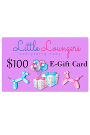 Little Loungers 100 Dollar E Gift Card | Baby Shower Gifting | Occassion Gifting - Product Mini Image