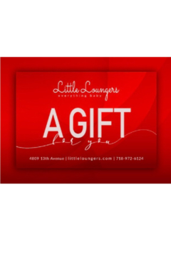 Shoptiques Product: Little Loungers 100 Dollar E Gift Card | Baby Shower Gifting | Occassion Gifting