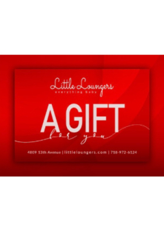 Shoptiques Product: Little Loungers Gift Card | Baby Shower Gifting | Occasion Gifting