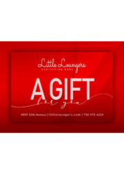 Little Loungers Gift Card | Baby Shower Gifting | Occasion Gifting - Product Mini Image