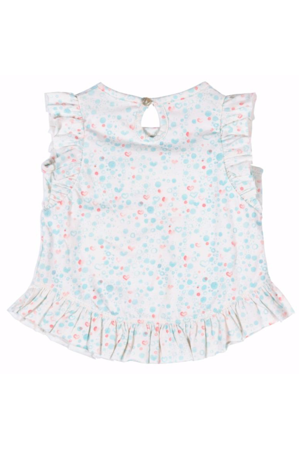 Paper Wings Little Mermaid Frilled Tank Top - Front Full Image