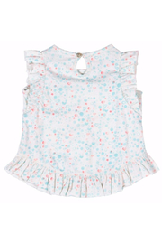 Paper Wings Little Mermaid Frilled Tank Top - Front full body