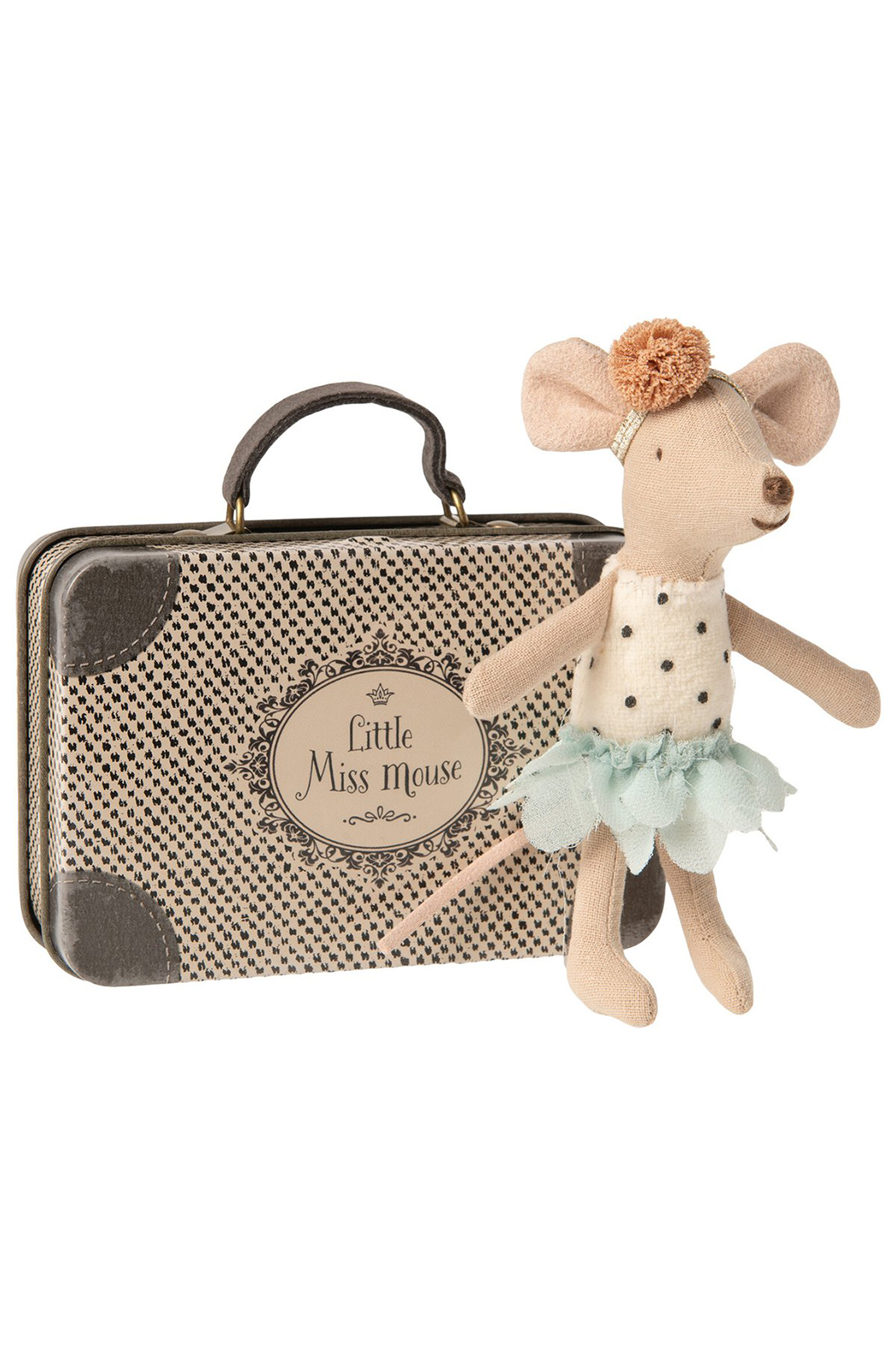 Maileg Little Miss Mouse In Suitcase - Main Image