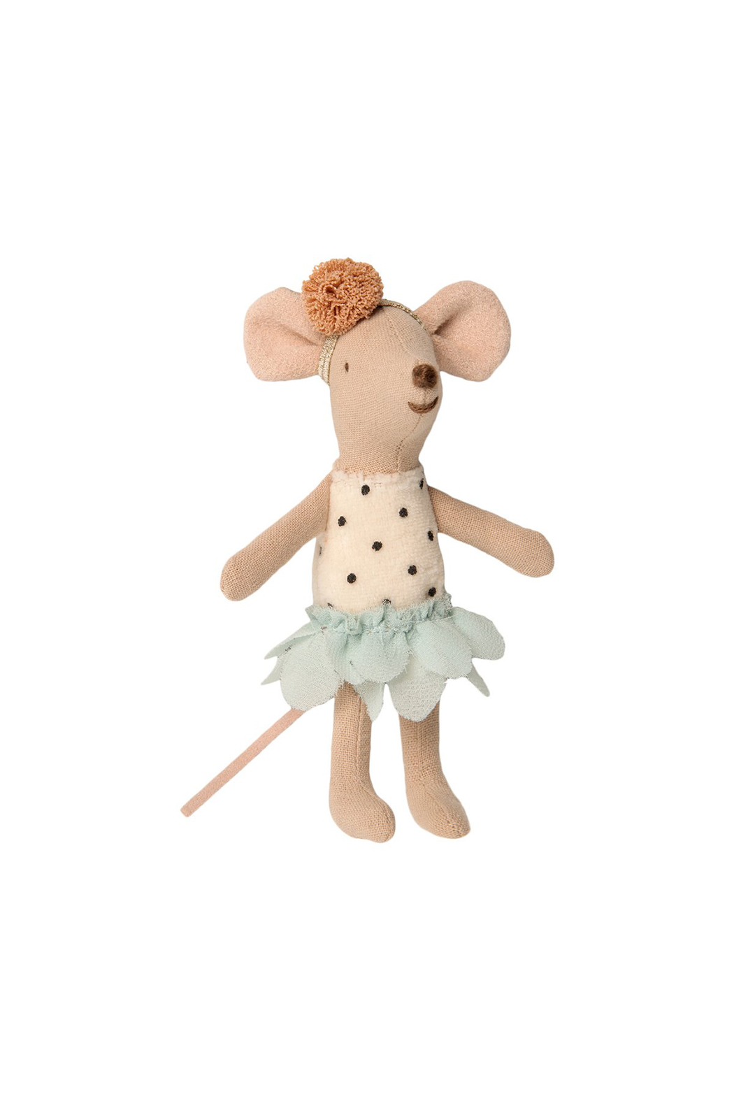 Maileg Little Miss Mouse In Suitcase - Front Full Image