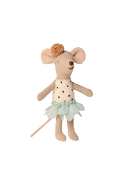Maileg Little Miss Mouse In Suitcase - Front full body