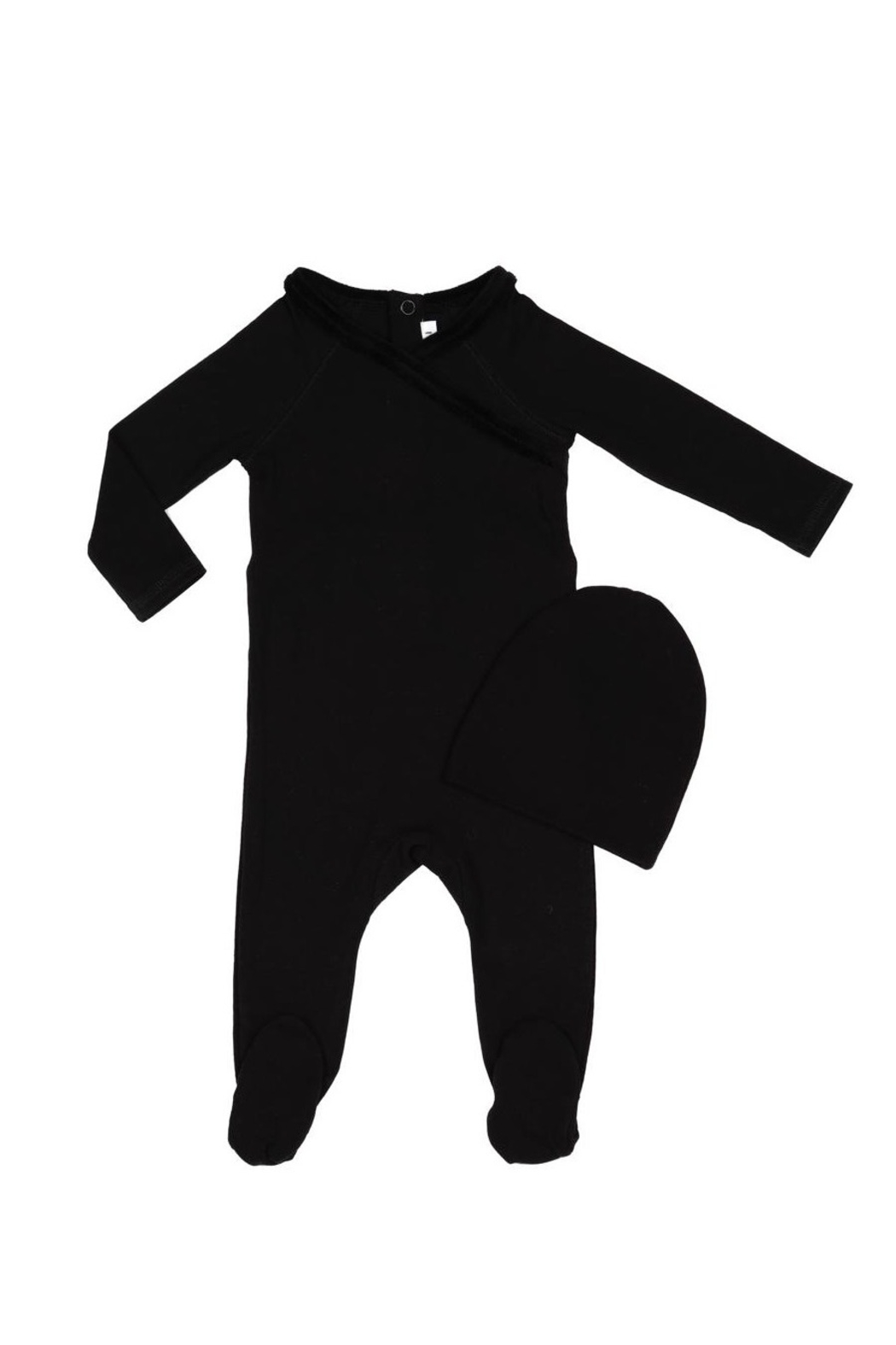 Little Parni  Baby Onesie with Hat - Front Cropped Image