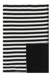 Little Parni  Stripped Reversible Blanket | Baby Swaddle | Winter Use - Product Mini Image