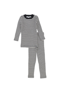 Shoptiques Product: LITTLE PARNI RIBBED KNIT PAJAMAS