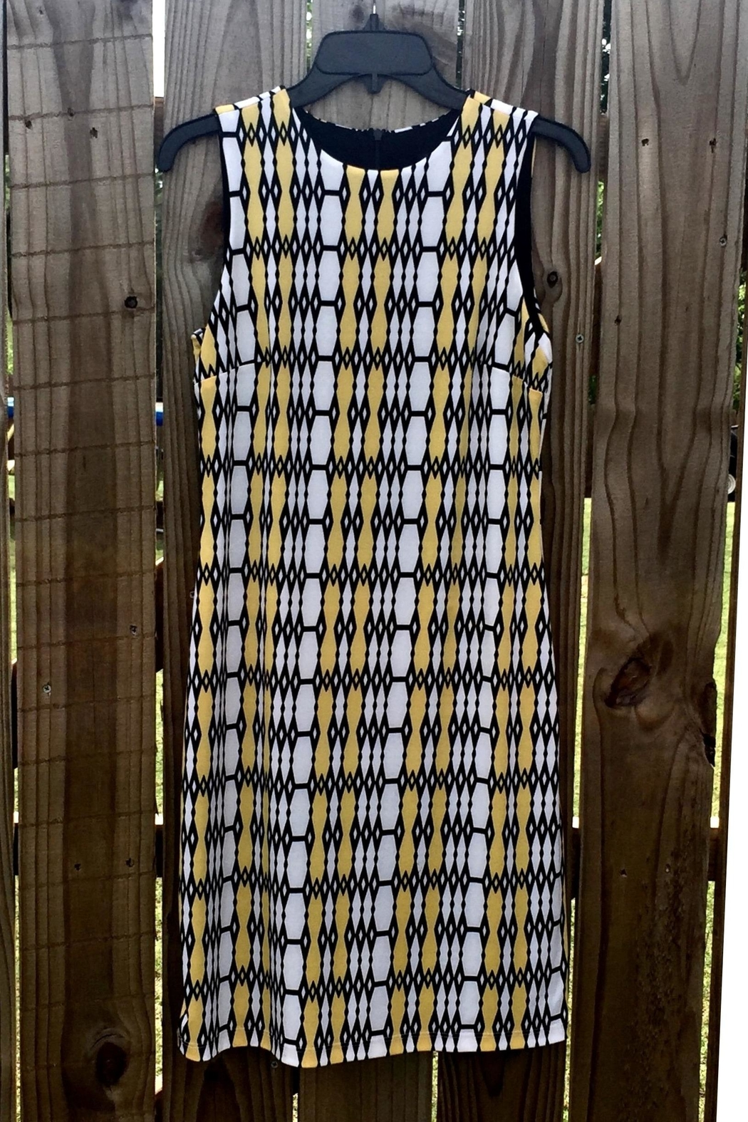 Karen Kane Little Patterned Dress - Main Image