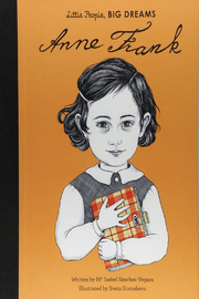 Hachette Book Group Little People Big Dreams - Anne Frank - Front cropped