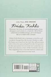 Hachette Book Group Little People Big Dreams - Frida Kahlo - Front full body