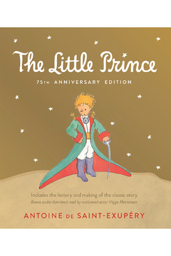 Houghton Mifflin Harcourt  Little Prince 75th Anniversary Edition: Includes The History And Making Of The Classic Story - Alternate List Image