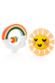 Lucy Darling Little Rainbow Teethers - Product Mini Image