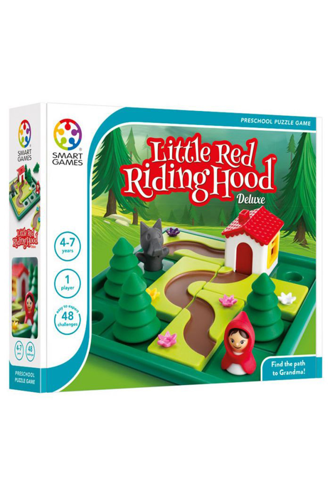 SmartGames Little Red Riding Hood Deluxe Preschool Puzzle Game - Main Image