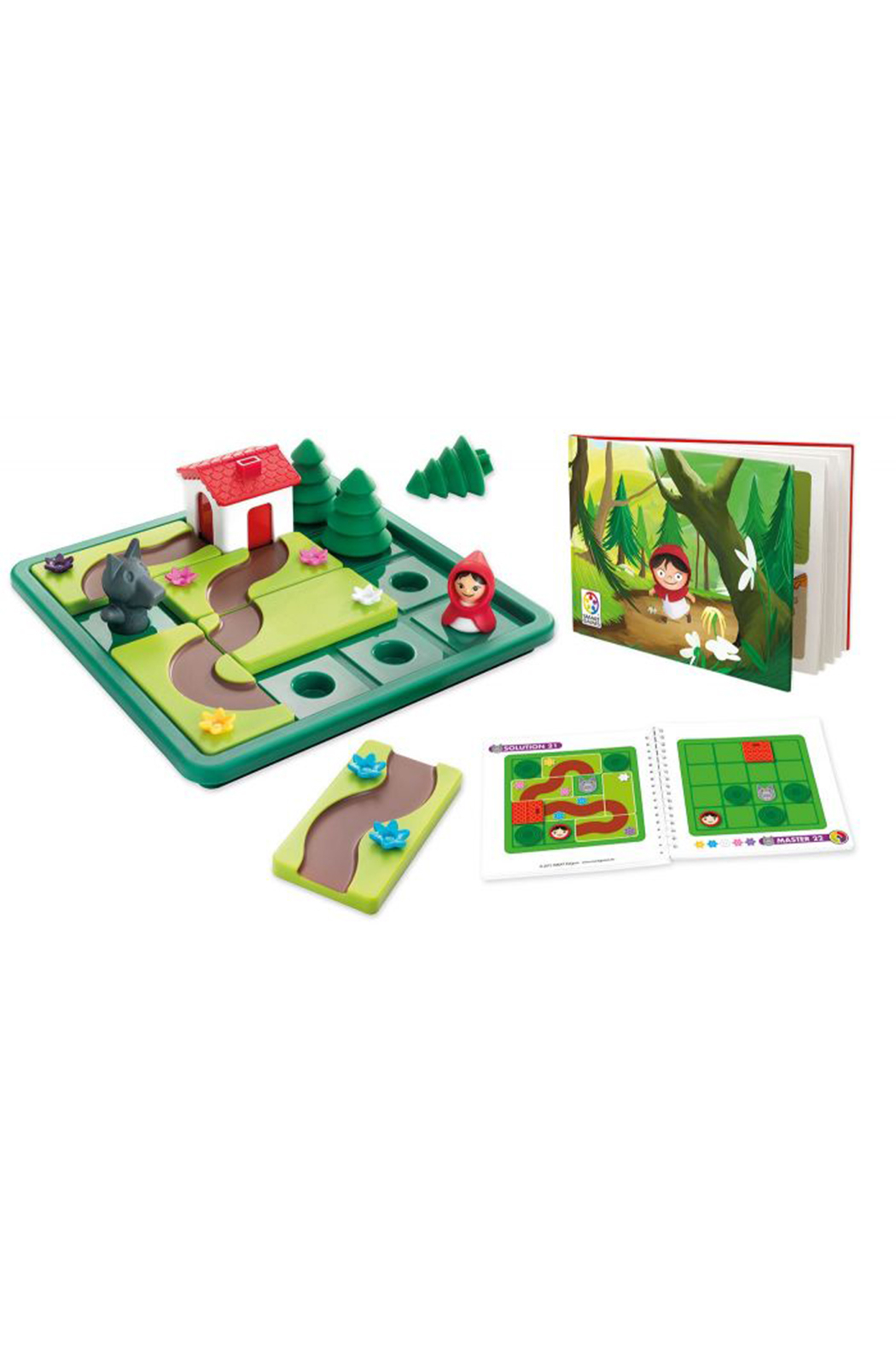 SmartGames Little Red Riding Hood Deluxe Preschool Puzzle Game - Front Full Image