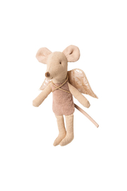 Maileg Little Sister/Little Brother Fairy Mouse - Front full body