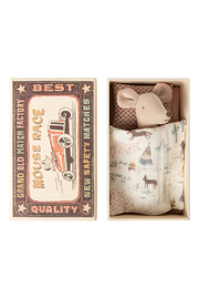 Maileg Little Sister Mouse In Matchbox - Product Mini Image