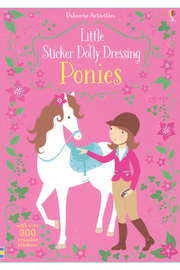 Usborne Little Sticker Dolly Dressing Ponies - Product Mini Image