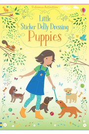 Usborne Little Sticker Dolly Dressing Puppies - Product Mini Image