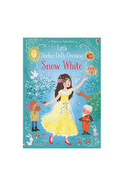 Usborne Little Sticker Dolly Dressing Snow White - Product Mini Image