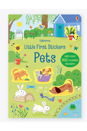 Usborne Little Stickers Pets - Product Mini Image