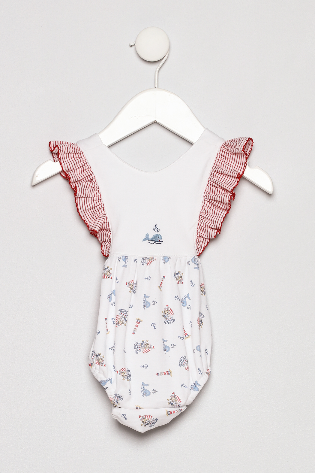 Little Threads Crossover Sunsuit - Main Image