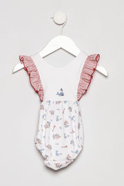 Little Threads Crossover Sunsuit - Product Mini Image