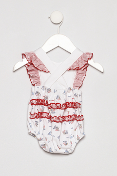 Little Threads Crossover Sunsuit - Alternate List Image