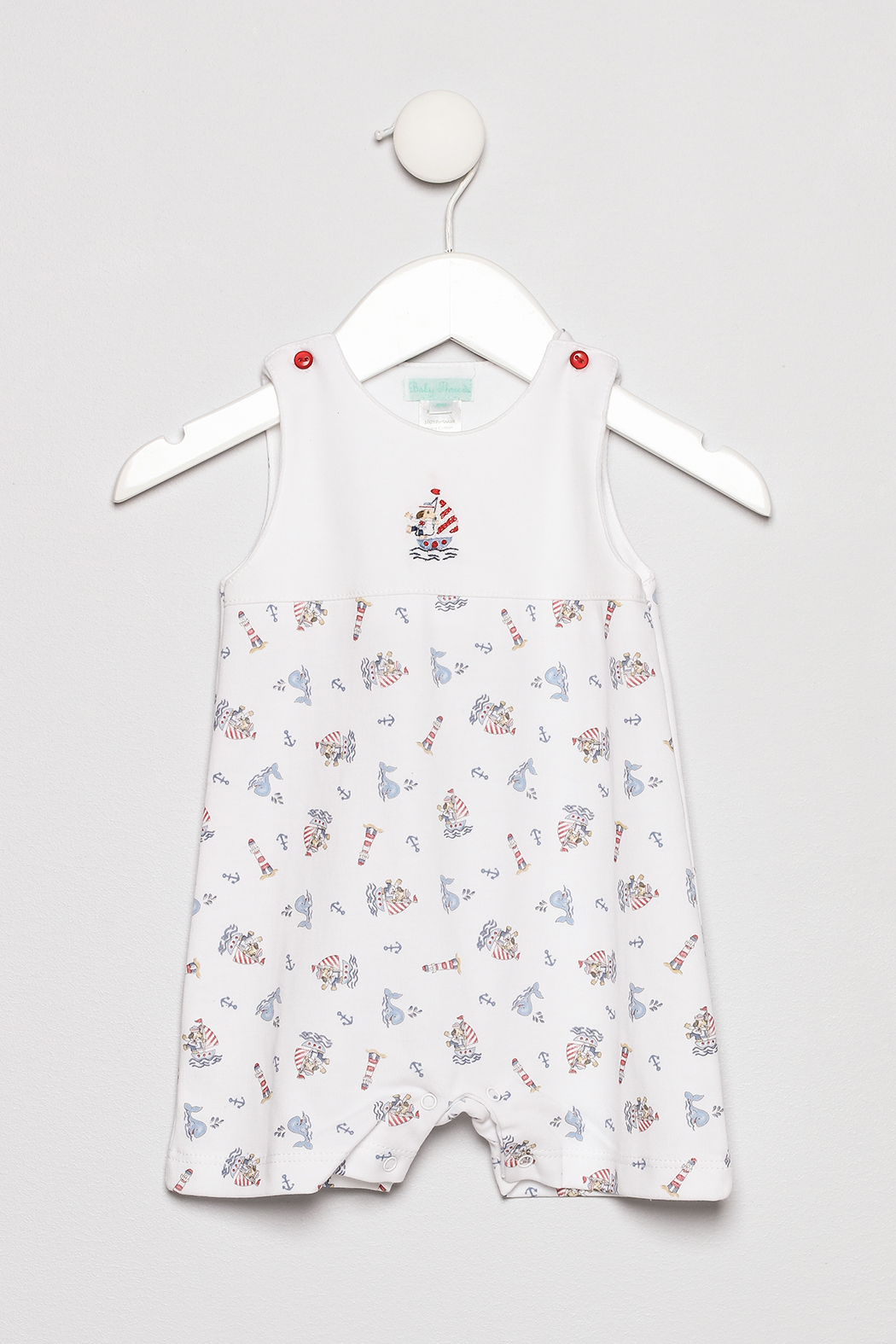Little Threads Whales Romper - Main Image