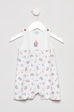 Little Threads Whales Romper - Product List Image