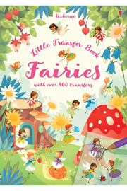 Usborne Little Transfer Book: Fairies - Front cropped