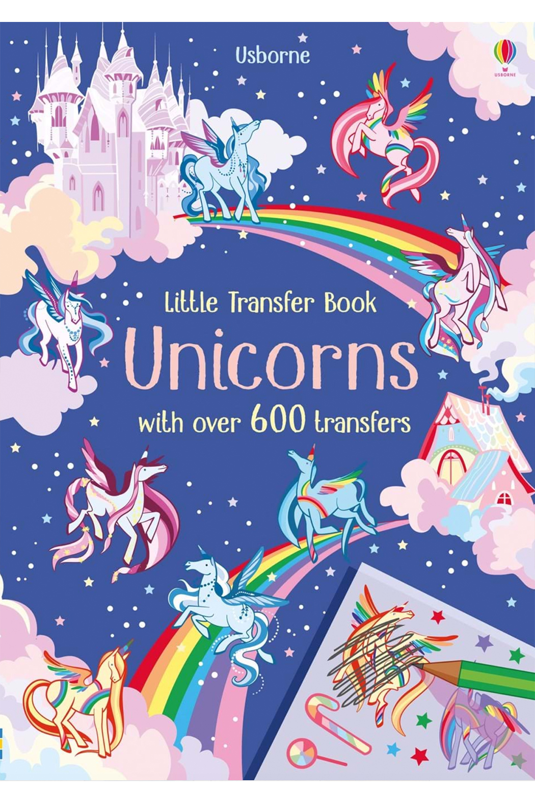 Usborne Little Transfer Book: Unicorns - Main Image