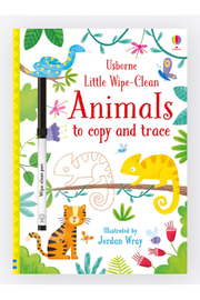 Usborne Little Wipe-Clean Animals To Copy And Trace - Product Mini Image
