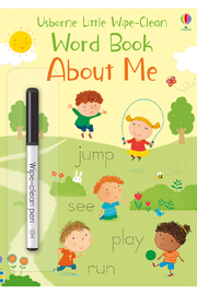 Usborne Little Wipe-Clean Word Book: About Me - Product Mini Image